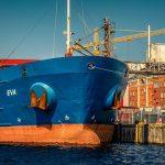 Ziehschein für die Schifffahrt